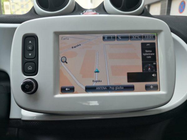 Smart Forfour 1.0, Passion, Led, Auto klima, HR Navi, Reg 6/2020