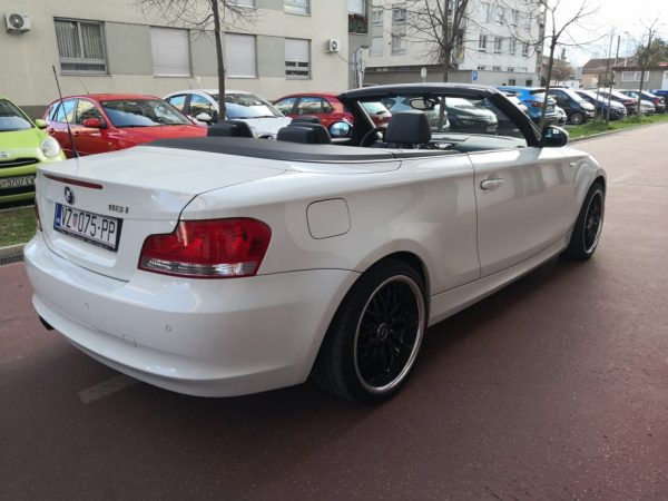 BMW serija 1 118i, 105KW, Cabrio, Alu 18″+16″, Alpine White, Reg 2/2021