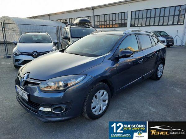 Renault Megane Grandtour 1.5 dCi 110, HR Navi, Garancija, Reg 9/2021