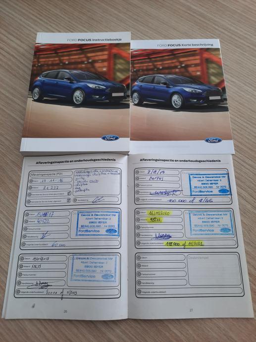 Ford Focus SW 1,5 TDCi 105 KS, Business, Navi, Alu 16″, PDC, Garancija